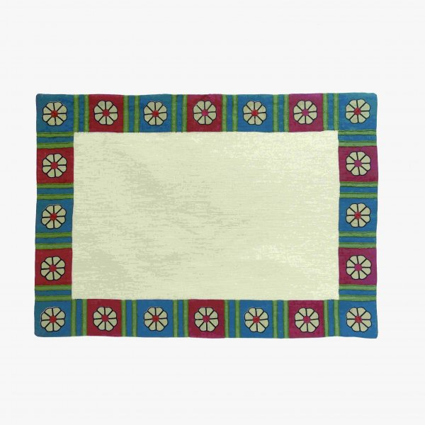 Daisy Chain Placemat Deep Blue