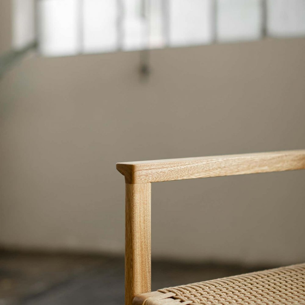 SD Collection Wooden Chair with Armrest