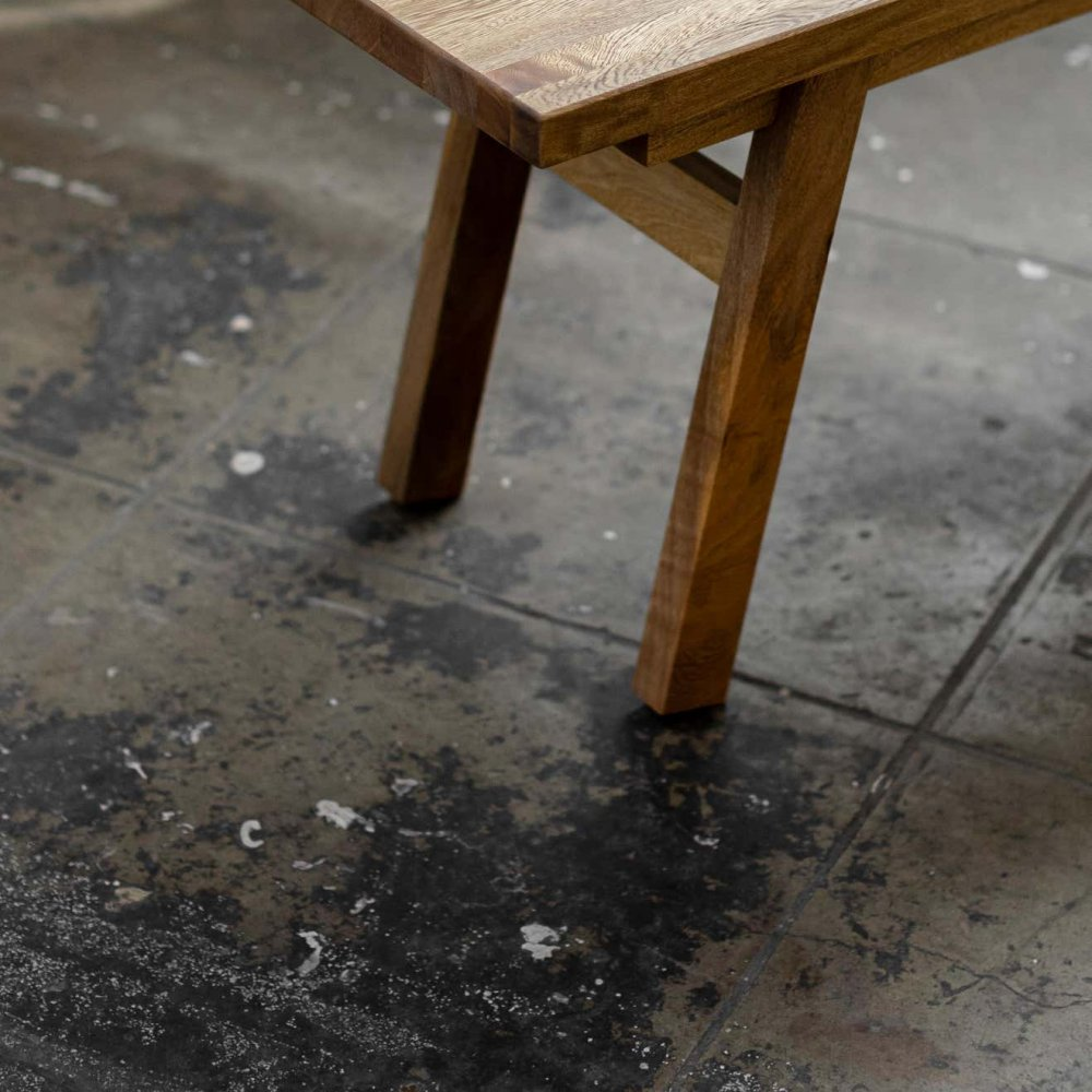 U Collection Wooden Bench 3