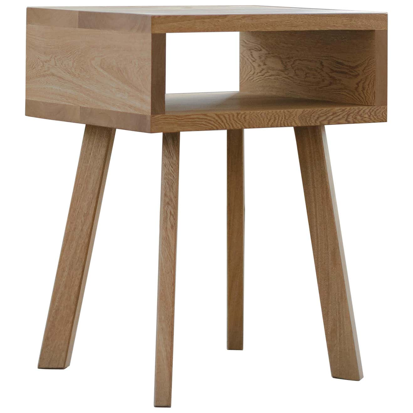 U Collection Wooden Nightstand without Drawer