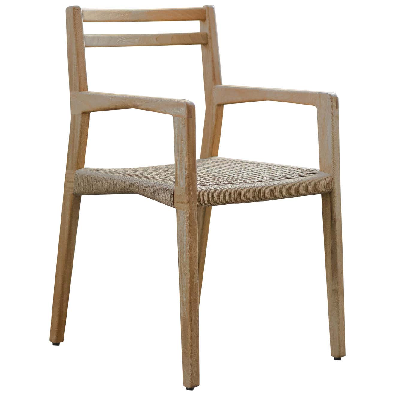 Wooden Chair C Collection with Armrest